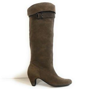 Sam Edelman Mischief Women Brown Slouch Boots 7.5